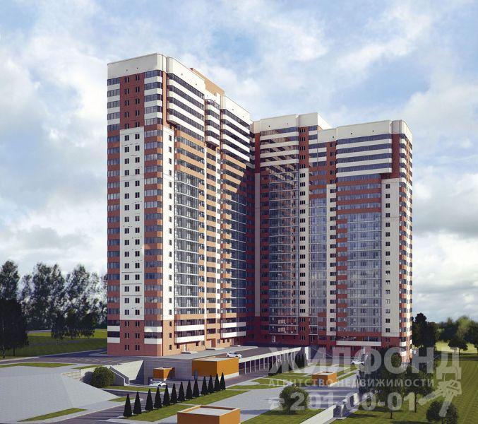 Продажа трехкомнатной квартиры в новостройке, г. Новосибирск в Заельцовском районе, Дуси Ковальчук, 242/1 стр, фотография номер 1